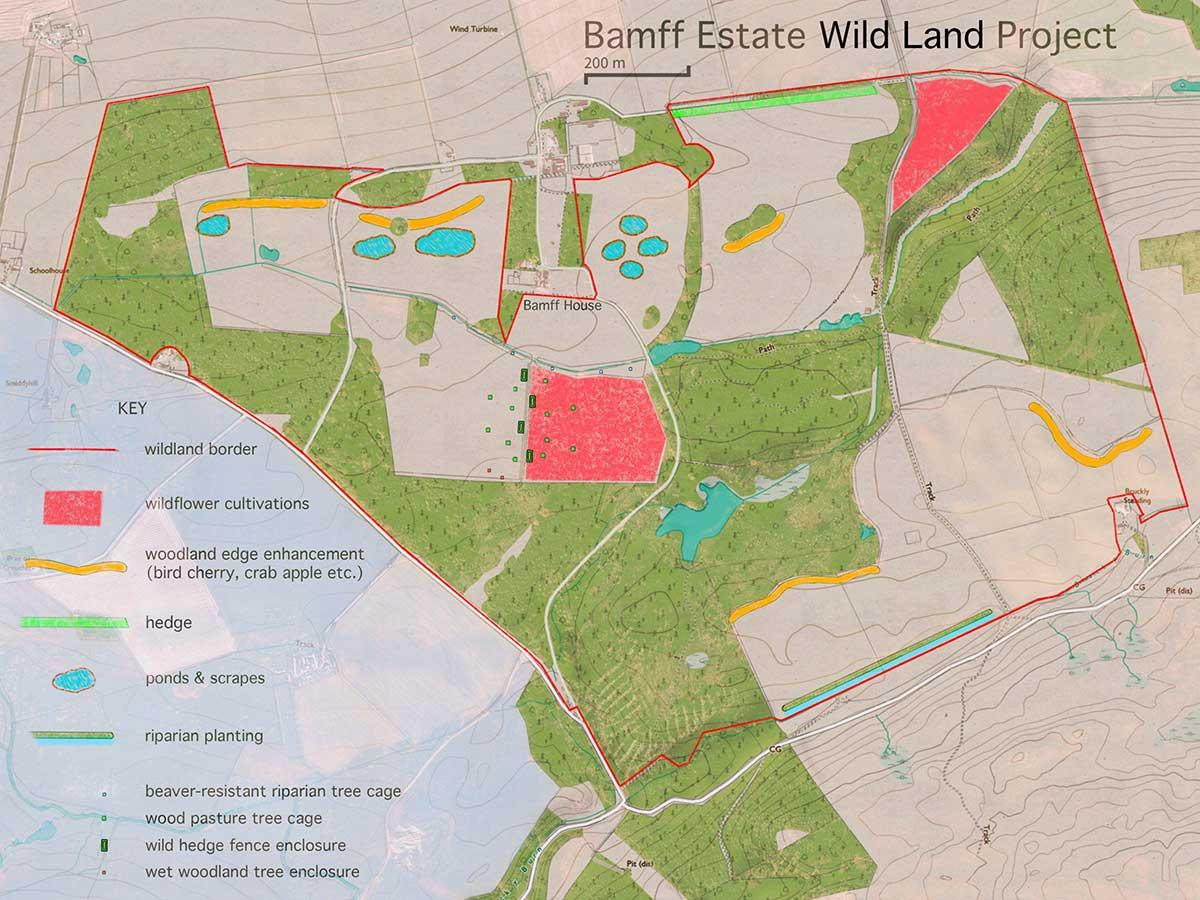 Bamff wild land map